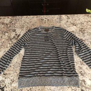 Lucky brand men's long sleeve cotton sweater
